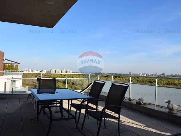 Penthouse deosebit Baneasa, 330 mp utili - imaginea 1