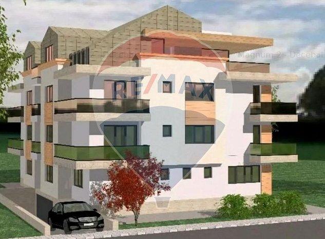 Apartament | 3 camere | Domenii | Curte de 54mp - imaginea 1