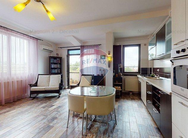 3 camere spatioase imobil nou zona Nord Bucuresti cu terasa - imaginea 1