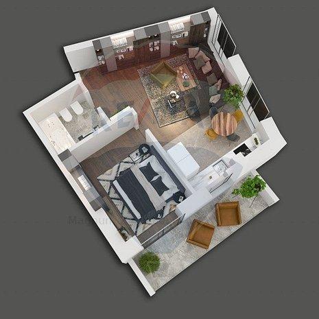 Apartament cu 2 camere de vanzare in bloc nou in zona Mosilor - imaginea 1