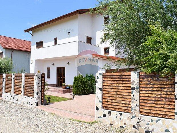 Vila de vanzare cu 6 camere in Saftica-Balotesti, curte libera 685 mp. - imaginea 1