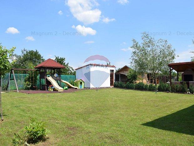 Vila de vanzare cu 6 camere in Saftica-Balotesti, curte libera 685 mp. - imaginea 2