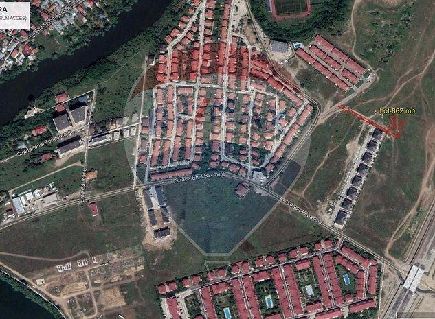 Teren Pipera | Popasului Residence | 863mp | 26 deschidere - COMISION 0% - imaginea 1