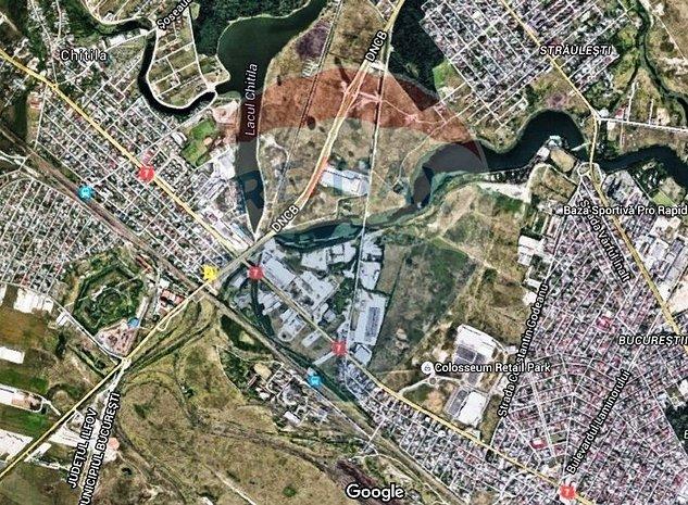 1367 mp teren intravilan Chitila cu PUD si utilitati - imaginea 1
