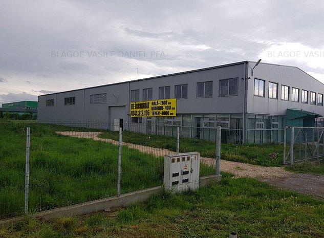 Hala industriala +birouri+teren - imaginea 1