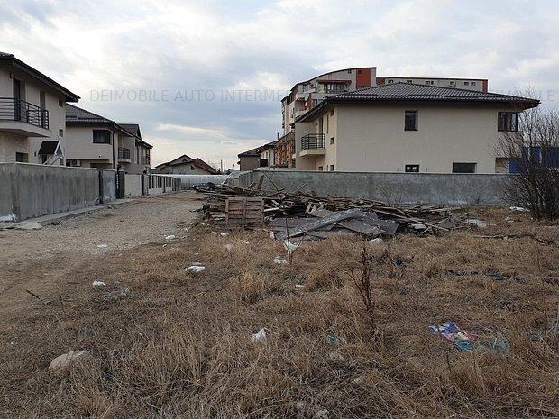 Voluntari Ilfov, zona Primarie teren 861 mp zona de case  - imaginea 1