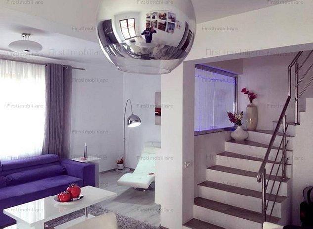 Vila 4 camere moderna, suprafata utila 130 mp, curte libera 120 mp - imaginea 1