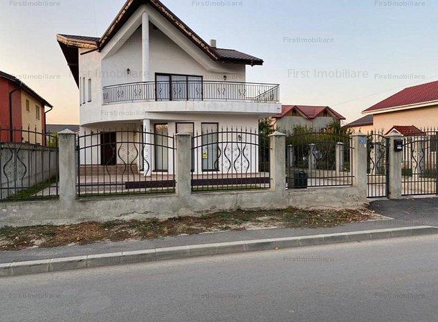 Vila cu 4 camere,3 bai,teren 500 mp ,mobilata si utilata modern - imaginea 1