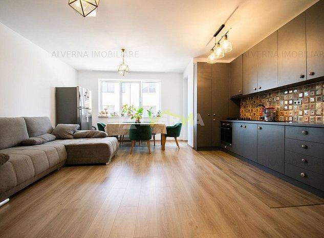 Apartament cochet cu 2 camere, 53mp + terasa, garaj subteran, Floresti - imaginea 1