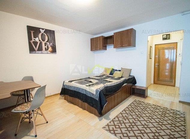 DISPONIBIL! Apartament 1 camera 30 mp, modern, zona BIG Manastur - imaginea 1