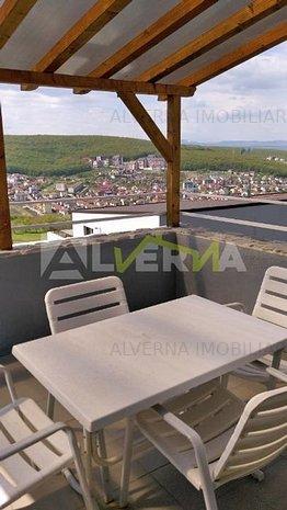Inchiriere casa 350mp, 3 dormitoare, living, birou, terasa,zona Europ - imaginea 1