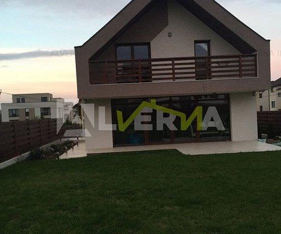 Casa individuala 240mp finalizata 2016, teren 600mp, zona Europa - imaginea 1