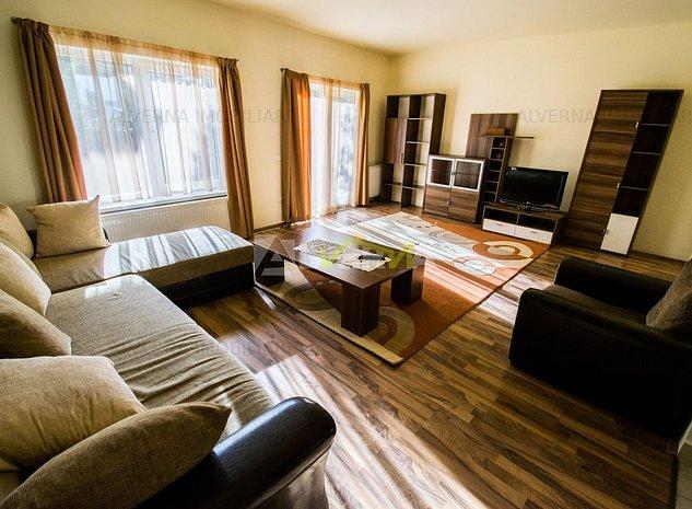 Inchiriere casa 160mp, 3 dormitoare, living, parcare, zona Manastur - imaginea 1