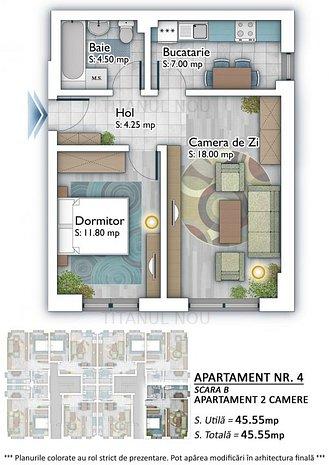 Apartament 2 camere Titan Auchan Theodor Pallady - Metrou 1 Decembrie 1918 - imaginea 1