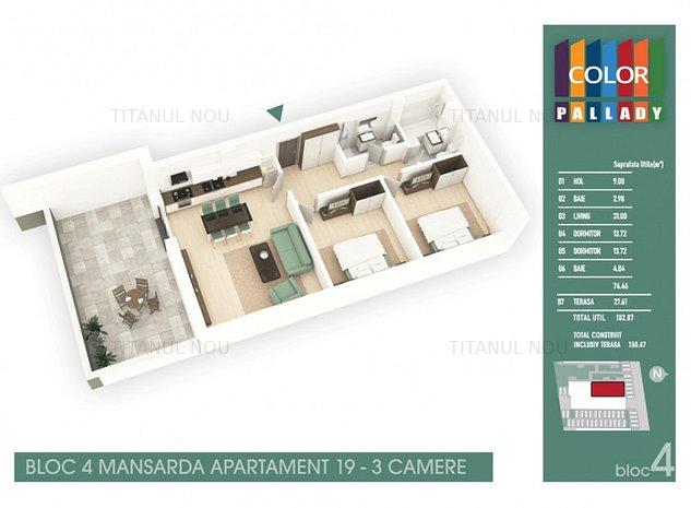 Birou de Vanzari - Titanul Nou - Theodor Pallady - Finalizat - imaginea 1
