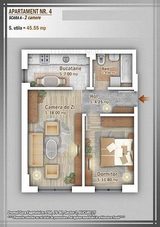 Promotie!!!  Apartament 2 camere - Titan - 1 Decembrie 1918 - imaginea 1