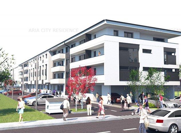 Brancoveanu - adiacent,bloc nou 2021 - Garsoniera decomandata etaj 1 (ID 14) - imaginea 1