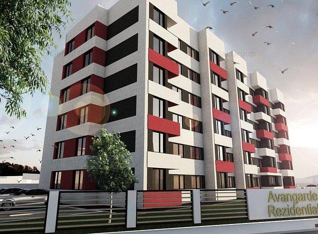 Apartament 2 camere - Zona Cantacuzino - imaginea 1