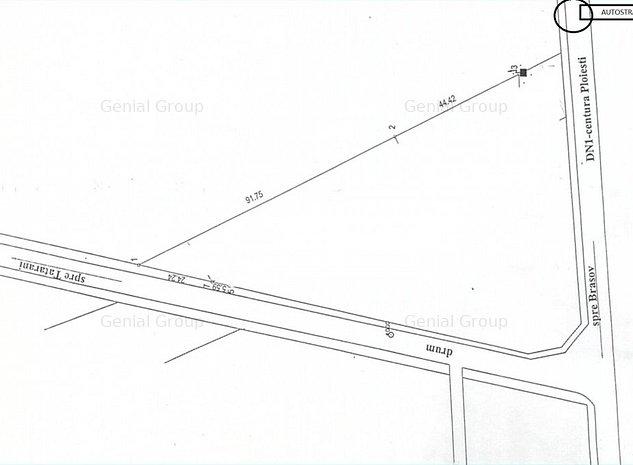 Teren intravilan 5124 MP - Zona  autostrada Ploiesti- Bucuresti - imaginea 1