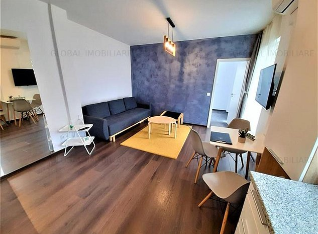 2 camere, 50mp, mobilat/utilat, cartier Buna Ziua, zona Buna Ziua - imaginea 1