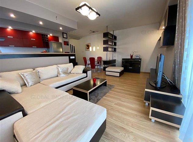 2 camere, 60mp, mobilat/utilat, Cartier Buna Ziua, zona str. Trifoiului - imaginea 1
