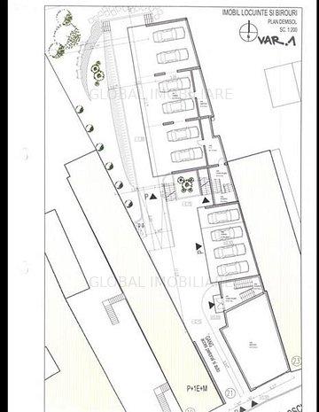 Teren cu Casa 11 camere, 924 mp ,Zona str. Constanta Oportunitate! - imaginea 1