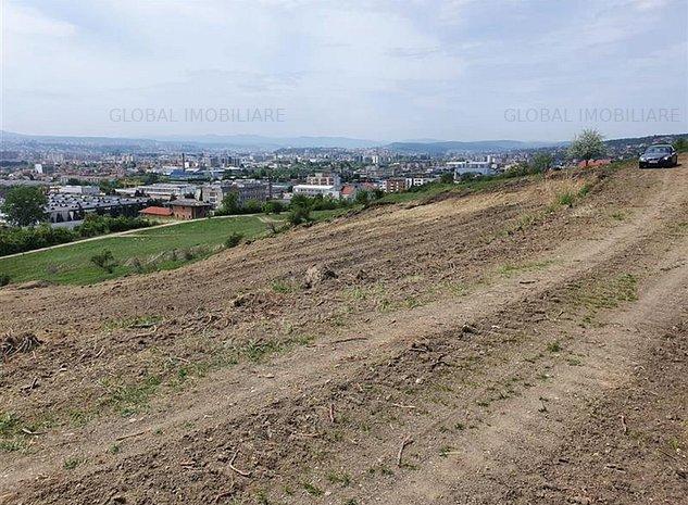 Teren intravilan,Constructii,1062mp,Front 25 m,Panorama, Iris str.Silvaniei - imaginea 1