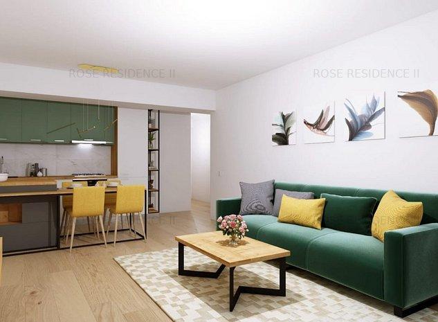 Apartament 2 camere decomandat bloc nou etapa a IV a Rose Residence 2 - imaginea 1