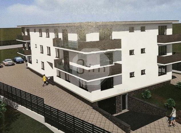 Vanzare Apartament 2 camere, Decomandat, 56 mp, zona Centurii - imaginea 1
