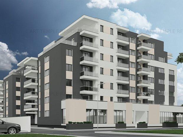 Apartament2 camere Arttempleresidence2 - imaginea 1