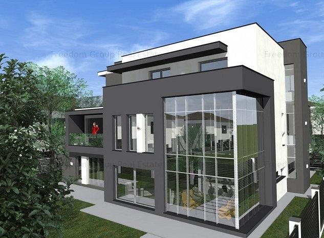 Vila P+1+2 arhitectura unicat, 300 mpu, langa padure. Promotie si comision zero! - imaginea 1