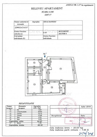 Brancoveanu-vedere Parcul Copiilor 3 camere acte finalizate - imaginea 1