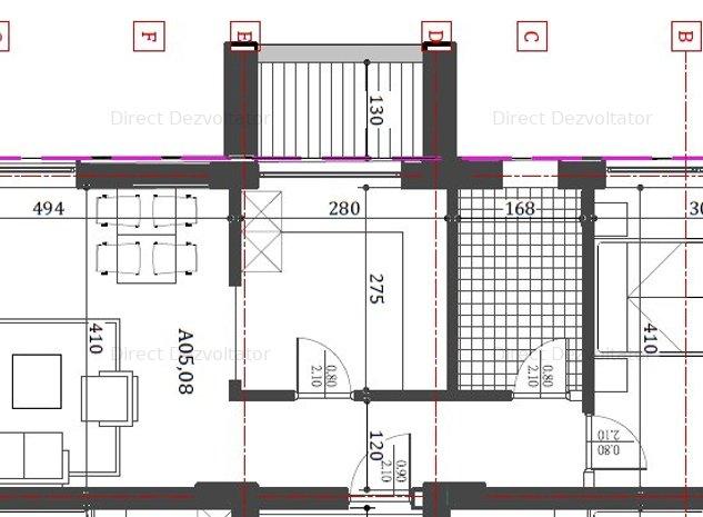 Proiect nou! 2 camere Metrou Eroii Revolutiei-blv.Pieptanari Comision zero! - imaginea 1