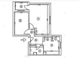 Apartament de vânzare 2 camere în Oltenita