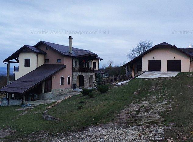 Casa de vanzare de tip D+P+E, sd= 457 mp si teren de vanzare 5366 mp - imaginea 1
