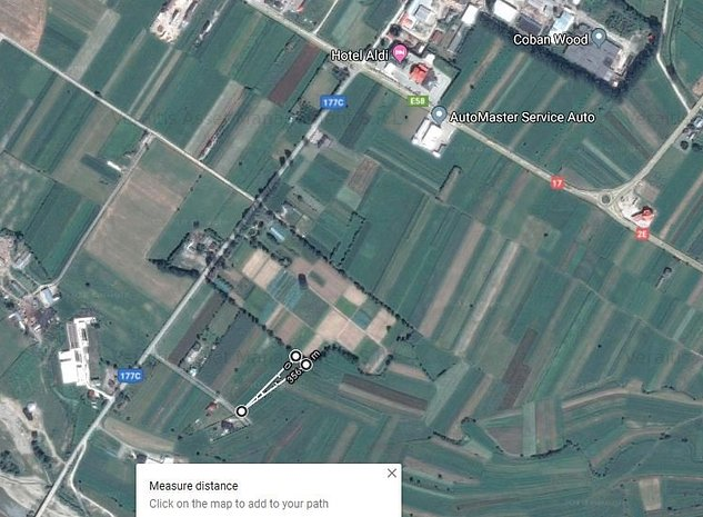 Teren extravilan 2.133 mp, Paltinoasa, Jud. Suceava - imaginea 1