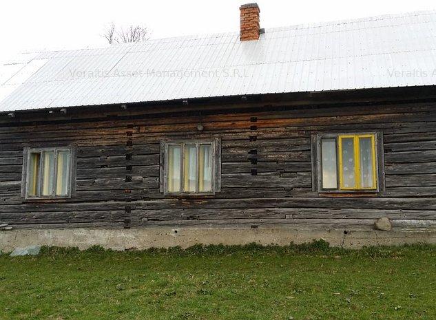 Teren si casa cu anexa sat Praleni, com Poiana Stampei, jud Suceava - imaginea 1