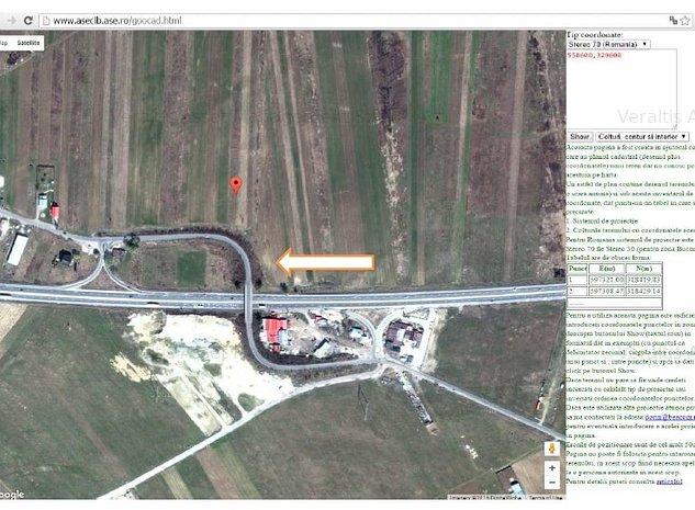 Teren de vanzare langa autostrada, Judet Giurgiu - imaginea 1