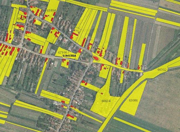 teren intravilan agricol 4505mp, Santandrei, Simeria, Hunedaora - imaginea 1