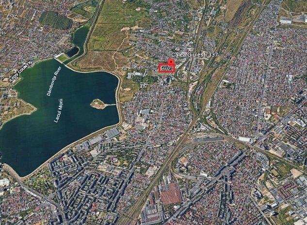 Teren constructie bloc 2100 mp Calea Giulesti 337 sector 6 - imaginea 1