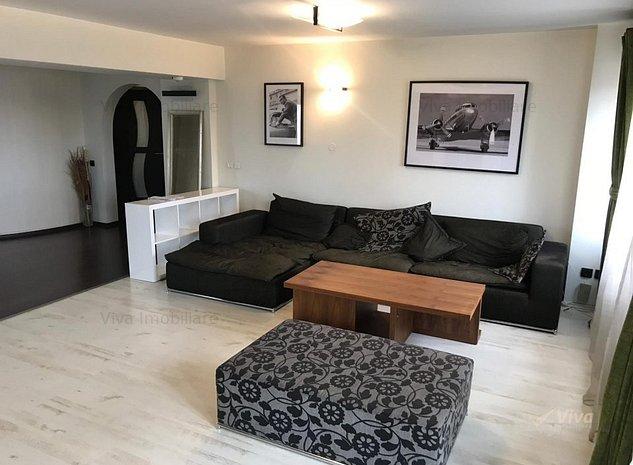 Inchiriez apartament lux! 3 camere 150mp, decomandat, Tg Cucu - imaginea 1