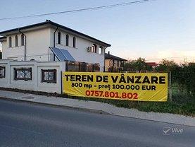 Teren constructii de vânzare, în Iaşi, zona Popas Păcurari
