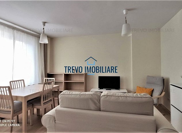 Apartament renovat modern, 2 camere,zona Piata Mihai Viteazu. - imaginea 1