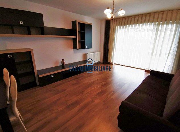 Apartament cu 2 camere in imobil nou,parcare,zona str. Aurel Vlaicu. - imaginea 1