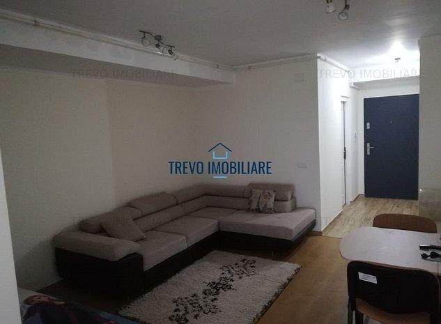 Apartament cu 1 camera, semidecomandat, zona Baza Sportiva Gheorgheni - imaginea 1