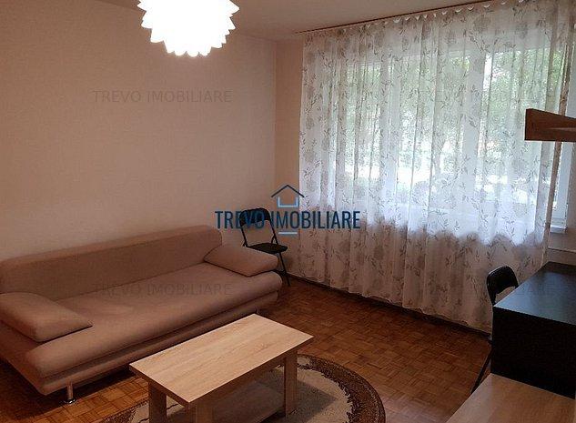 Apartament cu 2 camere, 46 mp, semidecomandat, zona strazii Borsec - imaginea 1