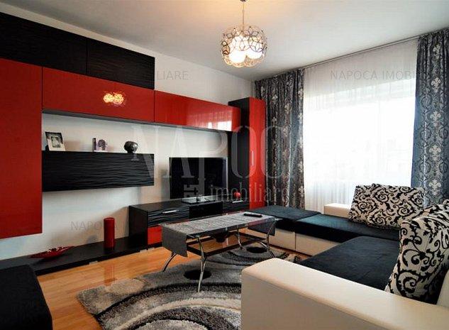 Apartament 3  camere de vanzare in Manastur, Cluj Napoca - imaginea 1