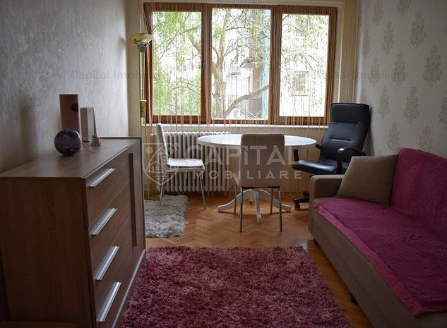 Inchiriere apartament cu 3 camere semidecomandat, Grigorescu - imaginea 1