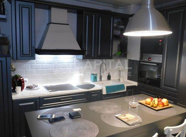 Vânzare apartament 3 camere semidecomandat, zona Iris - imaginea 1