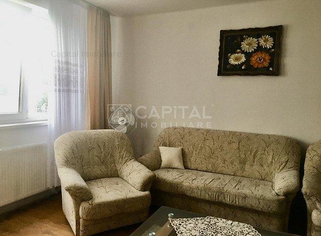 Închiriere apartament cu 2 camere semidecomandat, zona Piaţa Mihai Viteazul - imaginea 1